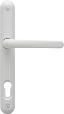 Aluminium lever handle in White