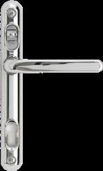 Chrome aluminium lever handle