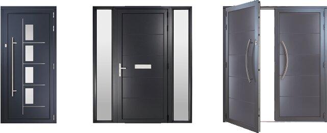 Front door types